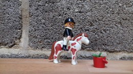 Playmobil N° 4641 - La Cavalière & Son Poney - Other Collections