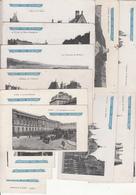 Lot De 15 Cartes Postales Chocolat Guérin-boutron - Paris Monaco Venise Bruxelles Etc.... - Publicidad