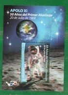 URUGUAY 2019-50a. Del 1º Alunizaje Con Lentes 3 D-TT: Espacio,Estrellas,Lentes,Planetas - Uruguay