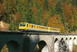 RU CT 06 - Autorail RGP X 2731 Sur Le Viaduc De L´ Evalude Vers MOREZ - Jura - SNCF - Trains