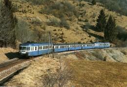 RU CT 07 - Autorail X 2818 Vers LEZAT - Jura 39 - SNCF - Trains