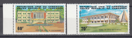 1983 Yvert Nº 713 / 714   MNH,  Ayuntamiento Bafoussam,  Palacio Municipal Garoua - Camerun (1960-...)