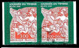 """FRANCE P3136A° Paire Journée Du Timbre 1998 """"Blanc 1900"""" (10% De La Cote + 0,25) - France"""