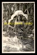 TAHITI - FEMME - CARTE PHOTO ORIGINALE - Tahiti