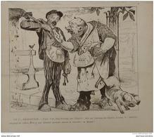 1911 CARICATURE RISLY = FRANC MACONNERIE = LA FRANCE D'HIER ET FRANCE DE DEMAIN  = COPIN - ALBANCELLI - Livres, BD, Revues