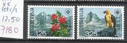 7180-MNH** YUGOSLAVIA JUGOSLAVIA SERIE COMPLETA FAUNA FLORA 1970 17,50€ Nº1291/2 ,PROTECCION NATURALEZA,BONITOS. - 1945-1992 República Federal Socialista De Yugoslavia