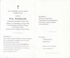 Fritz Schaillee (1903-1988) - Images Religieuses