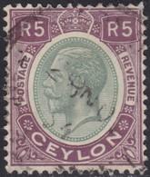 Ceylon    .   SG  .     365     .       O     .   Cancelled        .   /    .  Gebruikt - Ceylon (...-1947)