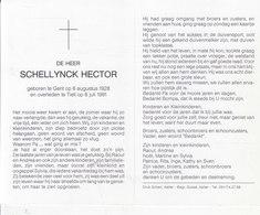 Hector Schellynck (1928-1991) - Images Religieuses
