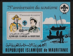 Mauritanie - 1982 - Bloc Feuillet BF N°Yv. 34 - Scoutisme / Scouts - Neuf Luxe ** / MNH / Postfrisch - Mauritania (1960-...)