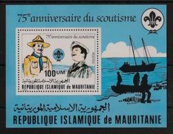 Mauritanie - 1982 - Bloc Feuillet BF N°Yv. 34 - Scoutisme / Scouts - Neuf Luxe ** / MNH / Postfrisch - Mauritanie (1960-...)
