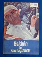 """LOUIS DE FUNES / GERALDINE CHAPLIN Im Film """"Balduin, Der Sonntagsfahrer"""" # NFP-Filmprogramm Von 1971 # [19-215] - Zeitschriften"""