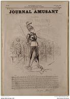 1874 LE GROENLAND AU JARDIN D'ACCLIMATATION Par RANDON - THEATRE BOUFFES PARISIENS - LE JOURNAL AMUSANT - Revues Anciennes - Avant 1900
