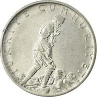 Monnaie, Turquie, 2-1/2 Lira, 1977, TB+, Stainless Steel, KM:893.2 - Turquie