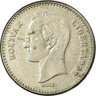 Monnaie, Venezuela, 25 Centimos, 1987, Werdohl, TB+, Nickel, KM:50.2 - Venezuela