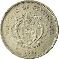 Monnaie, Seychelles, Rupee, 1992, British Royal Mint, TB+, Copper-nickel - Seychelles