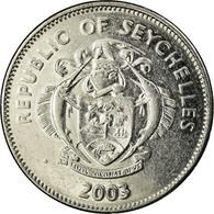 Monnaie, Seychelles, 25 Cents, 2003, Pobjoy Mint, TTB, Nickel Clad Steel, KM:49a - Seychelles