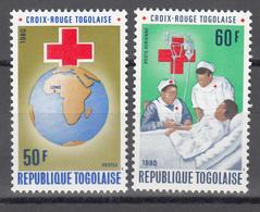 1979  Yvert Nº 985, A-422  MNH, Cruz Roja Togolesa. - Togo (1960-...)