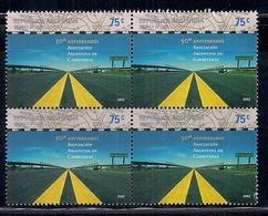 Argentina - 2002 - 50ème Anniversaire De L'association Routière Argentine - Argentina