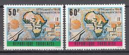 1979  Yvert Nº 984, A-421  MNH, 20 Aniversario De ASECNA - Togo (1960-...)