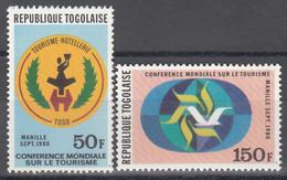 1979  Yvert Nº 995 / 996  MNH, Conferencia Mundial De Turismo. - Togo (1960-...)