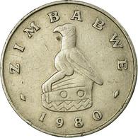Monnaie, Zimbabwe, 20 Cents, 1980, TB+, Copper-nickel, KM:4 - Zimbabwe