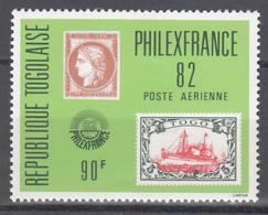 """1982 Aéreo Yvert Nº 479  MNH, Exposición Filatélica """"Philexfrance82"""" - Togo (1960-...)"""