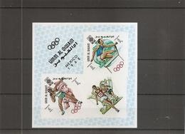 JO De Mexico -1968  ( BF 14 Non Dentelé XXX -MNH- De UmmAlQiwain ) - Summer 1968: Mexico City