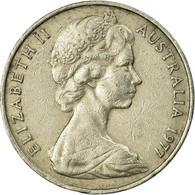 Monnaie, Australie, Elizabeth II, 20 Cents, 1977, Melbourne, TTB, Copper-nickel - Victoria