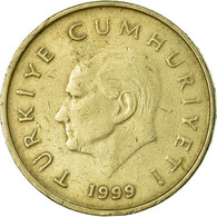 Monnaie, Turquie, 50000 Lira, 50 Bin Lira, 1999, TB+, Copper-Nickel-Zinc - Turquie