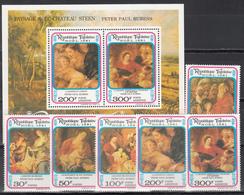 1981  Yvert Nº 1059 / 1061, A-458 / 460,  HB 159  MNH, Navidad 1981 - Pinturas De Rubens - Togo (1960-...)