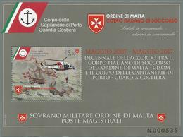 SMOM - ORDINE DI MALTA 2017 CAPITANERIE DI PORTO BF OFFERTA 60% SOTTOFACCIALE! - Malta (Orde Van)