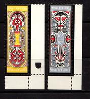 PAPUA  NEW  GUINEA    1969    Folklore    Set  Of  2  Pairs    MNH - Papua New Guinea