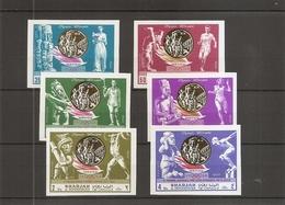 JO De Mexico-1968  ( 518/523 Non DentelésXXX -MNH- De Sharjah ) - Verano 1968: México