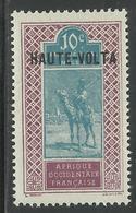 HAUTE VOLTA 1925 YT 26**  - PETITE VARIETE DE GOMME - Neufs