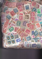 1 Kg TIMBRES FRANCE  Petits  Formats-  Sur Fragments - En Provenance Des Missions - Mezclas (min 1000 Sellos)