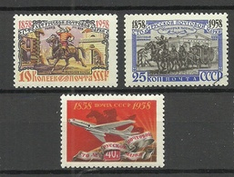RUSSIA Russland 1958 Michel 2114, 2116 - 2117 **/* - 1923-1991 USSR