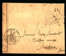 Censure ND 202 - Annecy - Lettre En Franchise MilitaireDaguin Départ + Arrivée : Modane - Marcophilie (Lettres)