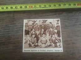 1932 1933 M EQUIPE DE FOOTBALL JEUNESSE SPORTIVE DE GUELMA ALGERIE - Vieux Papiers