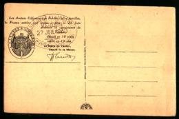 14 18 - VERDUN - Détruit En 10 Mois Rebâti En 10 Ans - Cachet De La Crypte 27 JUIL 1930 - Marcophilie (Lettres)