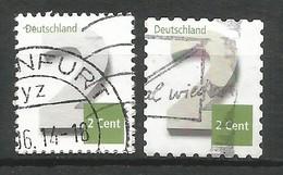 BRD 2013  Mi.Nr. 3042 + 3045 , Freimarken - Ziffernzeichung - Gestempelt / Fine Used / (o) - Gebraucht