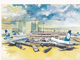 CP - Avion - Vliegtuig - Sabena - Brussels Airport - Autres