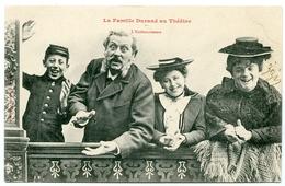 NANCY : BERGERET - LA FAMILLE DURAND AU THEATRE - L'ENTHOUSIASME - Bergeret