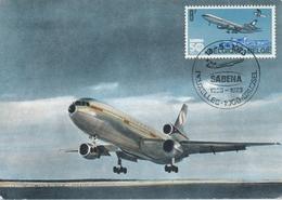 CP - Avion - Vliegtuig - Sabena - McD Douglas DC-10 - 1946-....: Era Moderna