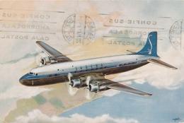 CP - Avion - Vliegtuig - Sabena - Douglas DC-6B - 1946-....: Era Moderna