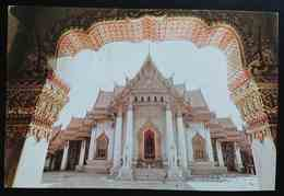 BANGKOK - THAILAND - Marble Temple - AIR SIAM - Nv - Tailandia