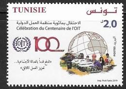 TUNISIA, 2019, MNH, ILO, 1v - ILO