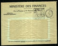 Obiltération Daguin Avec Publicité Touristique - Vigny - Val D'Oise - Marcophilie (Lettres)