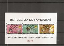 JO De Mexico -1968 ( Bf 14 XXX -MNH- Du Honduras ) - Summer 1968: Mexico City