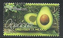 2017 El Aguacate, Oro Verde De México MNH AVOCADO, GREEN GOLD OF MEXICO, FRUIT - México